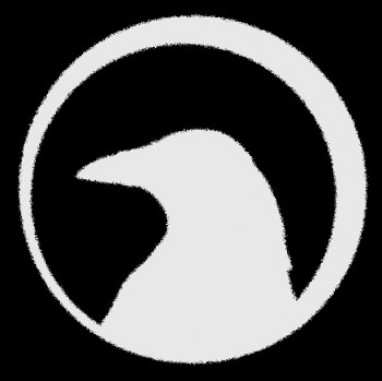 Crow logo aereocrow behind the workbench crow logo sciox Choice Image